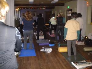 yoga retreat Mountain Park Environmental Center