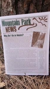 Moutain Park News!